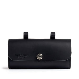 Load image into Gallery viewer, Black saddle bag