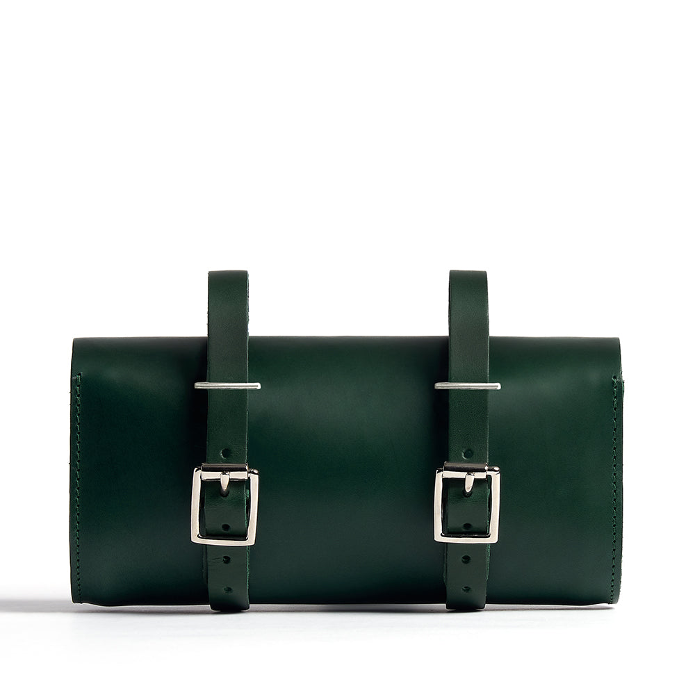 Racing Green Saddle Bag Back