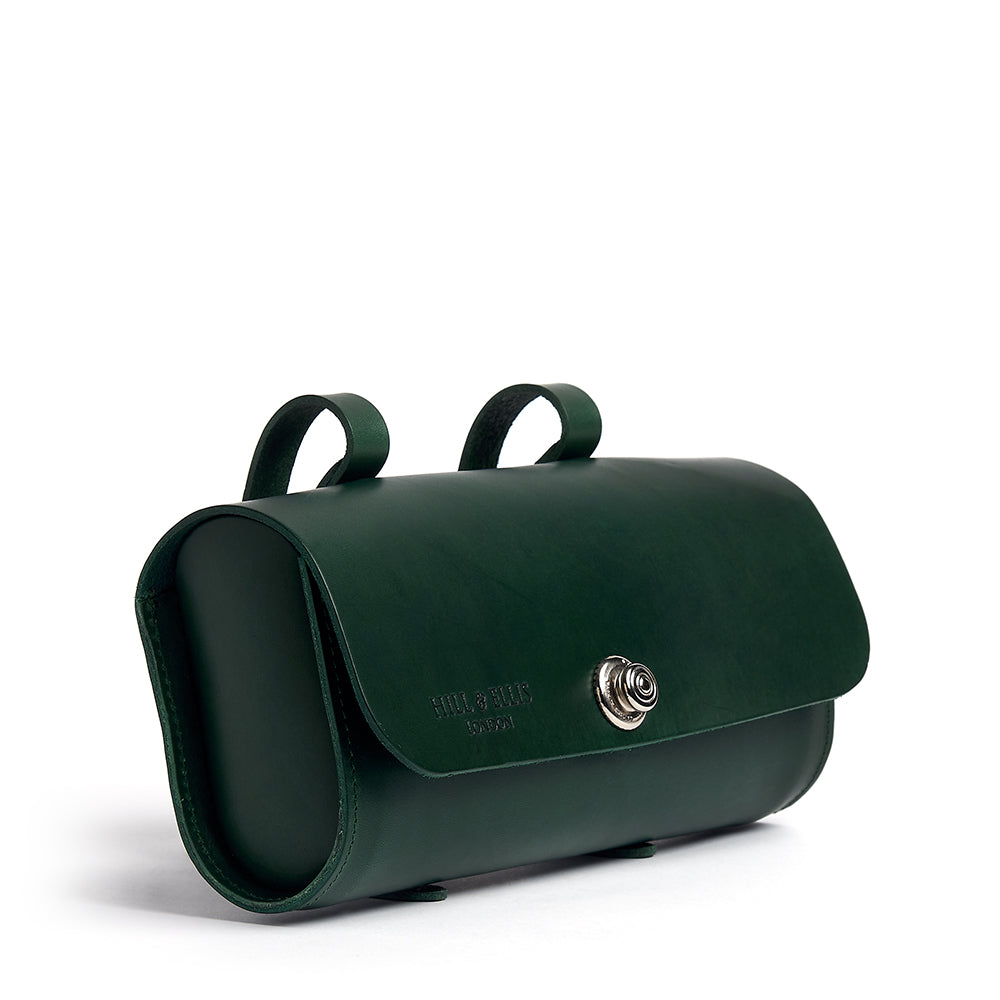 Green Saddle Bag on side