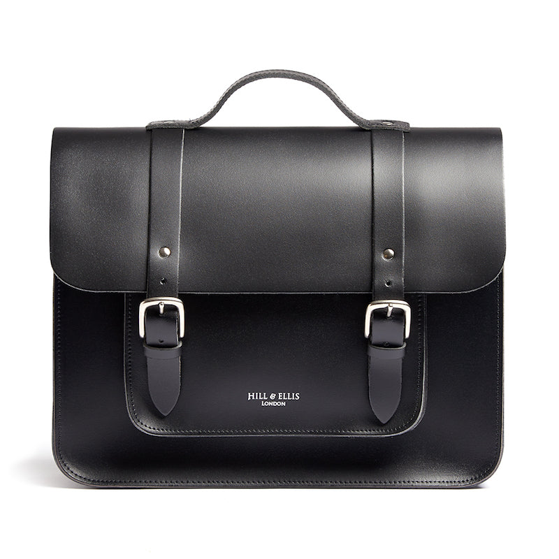 Black leather Cycle Bag
