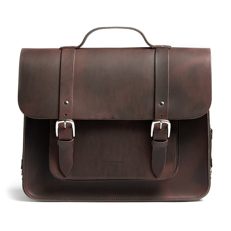 Brown Satchel Cycle Bag
