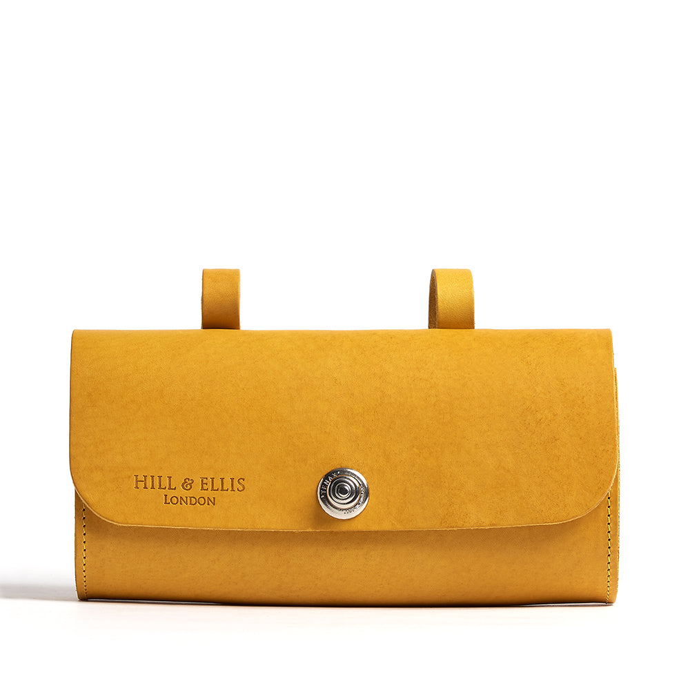 Load image into Gallery viewer, Mustard Yellow Saddle Bag