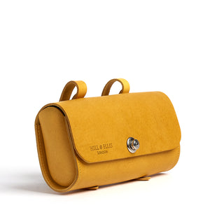 Load image into Gallery viewer, Mustard Yellow Saddle Bag back
