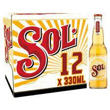 Sol Mexican Lager 330ml 12Pk