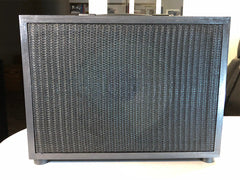 """1x12"""" cabinet - Front view with grill cloth"""