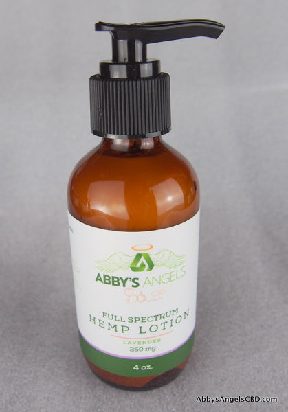 Lavender Lotion - 250 MG 4oz Round Bottle