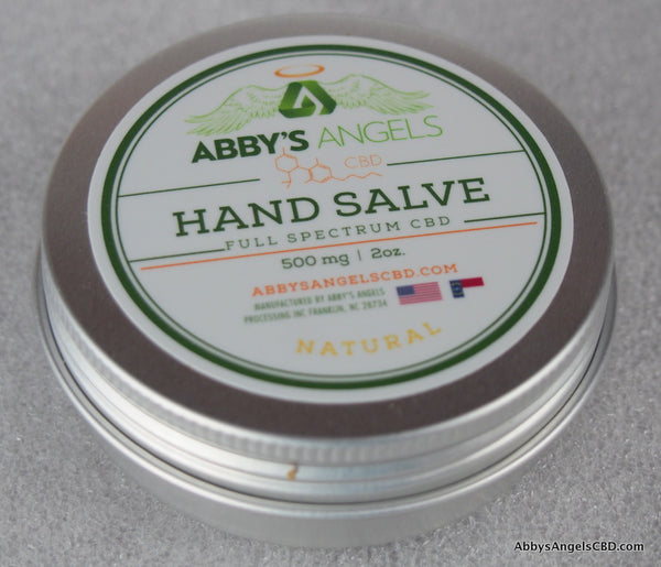 Natural Body Salve - 500 MG 2oz Tin