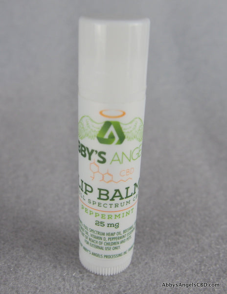 Pkg of 4 Peppermint Chap Sticks - 25 MG Lip Balm
