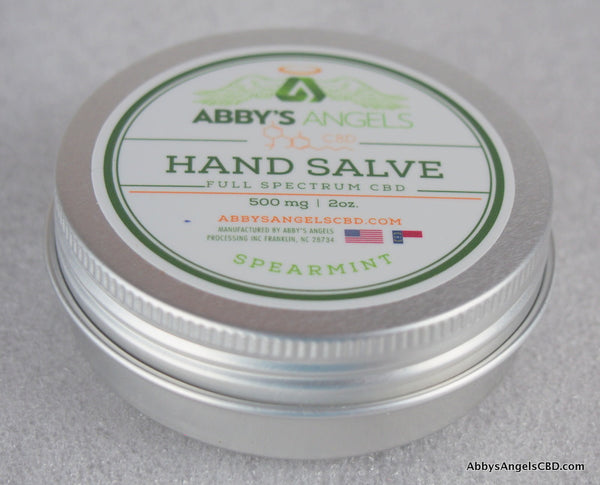 Spearmint Body Salve - 500 MG 2oz Tin