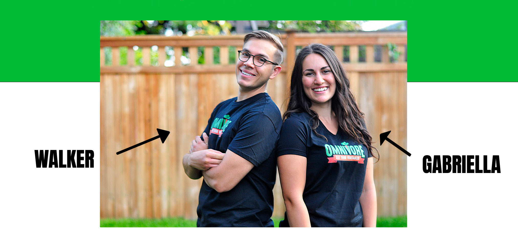 Walker Alvey and Gabriella StGeorge St.George St George founders of Omnivore Meats health and sustainability driven food company from the culinary institute of america CIA