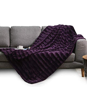 """Cozy Home""  Reversible Throw Blanket"