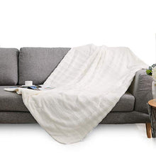 "Load image into Gallery viewer, ""Cozy Home""  Reversible Throw Blanket"