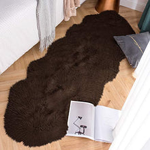 "Load image into Gallery viewer, ""Nordic Dream 2"" Faux Sheepskin Rug"
