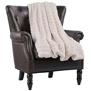 """Think Mink"" Faux Fur Throw Blanket"