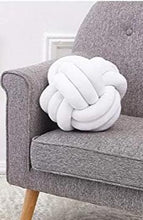 "Load image into Gallery viewer, ""Knotting Hill"" Ball Cushion"