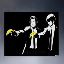 "Load image into Gallery viewer, ""Pop Life"" Banksy Graffiti Art Prints"