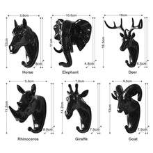 "Load image into Gallery viewer, ""Wilder"" 3D Wall Hooks"