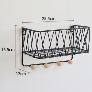 """Iron Works"" Wall Shelf"