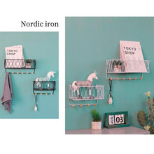 "Load image into Gallery viewer, ""Iron Works"" Wall Shelf"