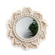 "Load image into Gallery viewer, ""Nordic Macrame"" Mirror"