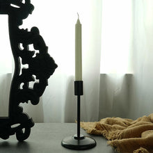 "Load image into Gallery viewer, ""Matte Black"" Pillar candle holders"