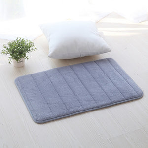 """Bath Basics"" Memory foam bathroom mat"
