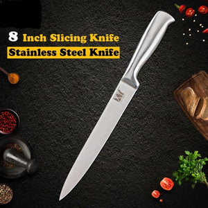 """Chef's BFF"" Stainless Steel Kitchen Knife Set"