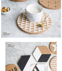 """JL Home Collection"" Oversized Coasters"
