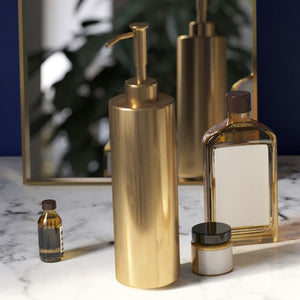 """Olympic Gold"" Bathroom Accessories Set"