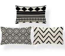 "Load image into Gallery viewer, ""Geometry 101"" Decorative Pillow Covers"