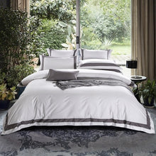 "Load image into Gallery viewer, ""Chic Sleep"" Luxurious 500TC Duvet Set"