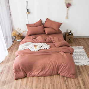 """Dreamland"" 4 Pcs Duvet Cover Set"