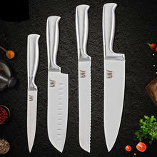 "Load image into Gallery viewer, ""Chef's BFF"" Stainless Steel Kitchen Knife Set"