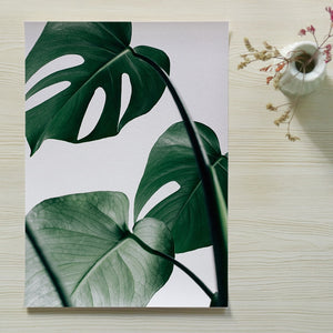"""Palms Away"" Modern Banana Leaf Prints"