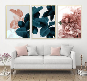 """Belle Botanicals""  Floral Wall Art"