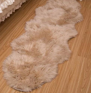 """LuxFur"" Sheepskin Faux Fur Rugs"