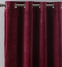 "Load image into Gallery viewer, ""Verona"" 2-Panel Velvet Drapery Set"