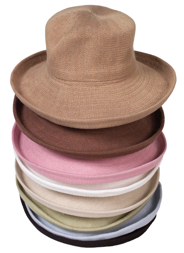 1506 Knitted Bucket Hat - Large Brim