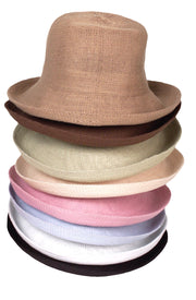 Jacaru 1507 Knitted Bucket Hat with Small Brim