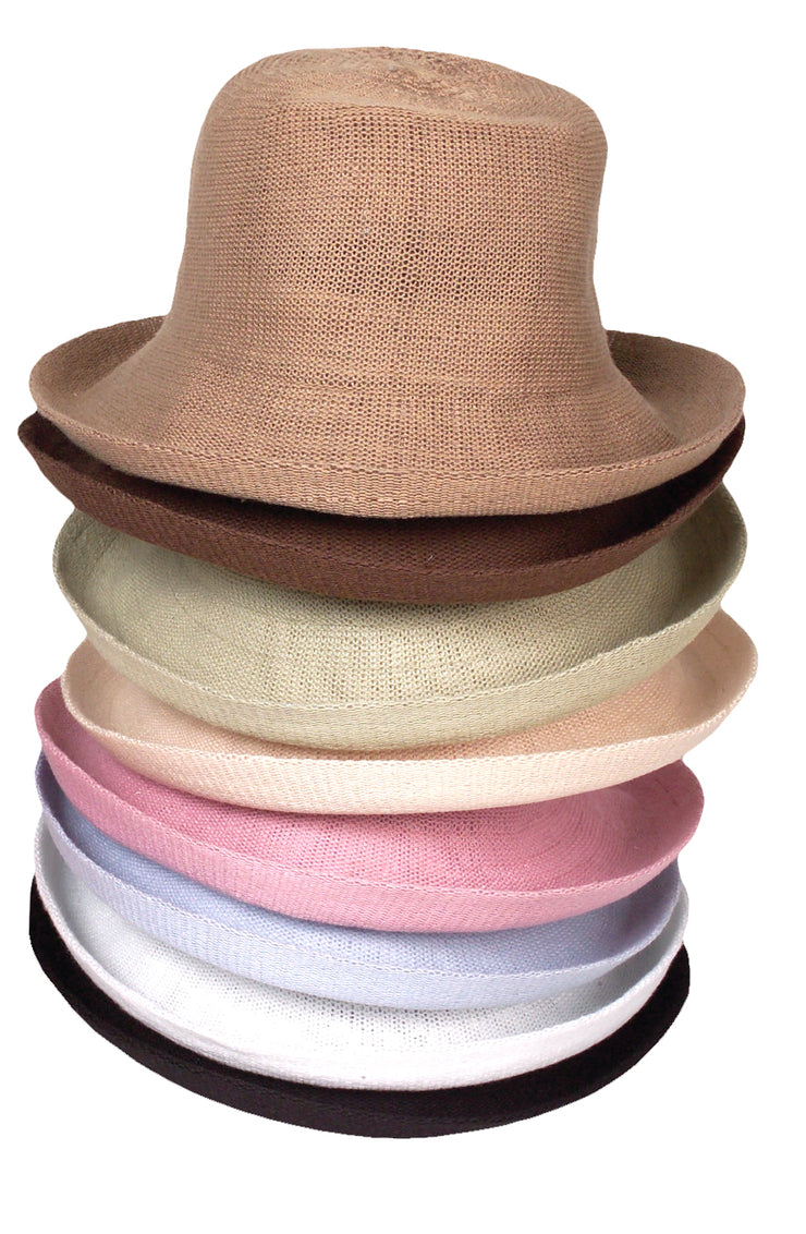 1507 Knitted Bucket Hat with Small Brim