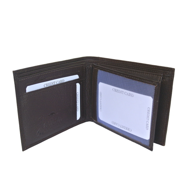 Jacaru 5786 Flap Wallet Men's