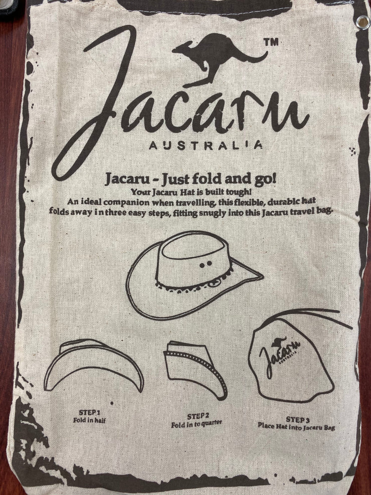 Jacaru 1001 Kangaroo Leather Hat