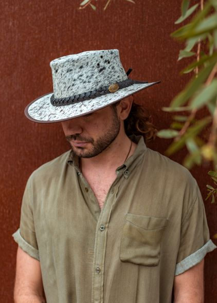 Jacaru 1049 Rustler Leather Hat