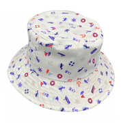 Jacaru 1866 Kids Nautical Bucket Hat
