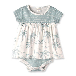 Aloha Skirted Bodysuit