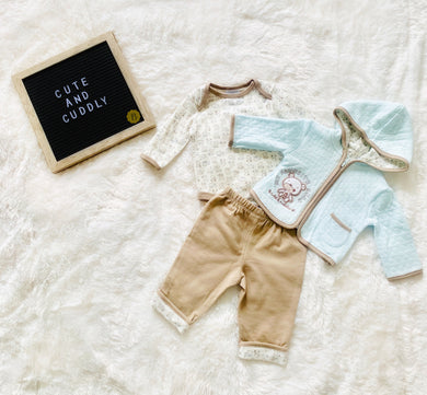 Cute and Cuddly (3 Piece Set)