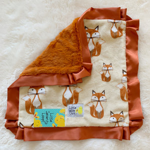 Foxy Tails Blanket