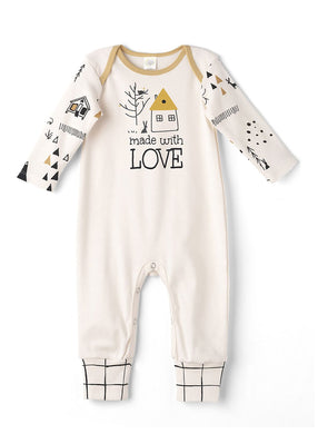 Made With Love Long Sleeve Romper