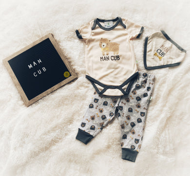 Man Cub (3 Piece Set)