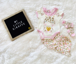 My Little Giraffe with Ruffles (3 Piece Set)